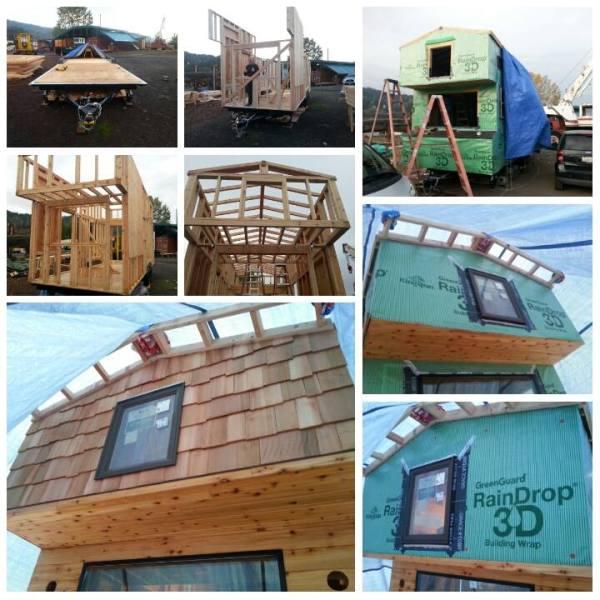 Couples 20k DIY Tiny House Construction 0011