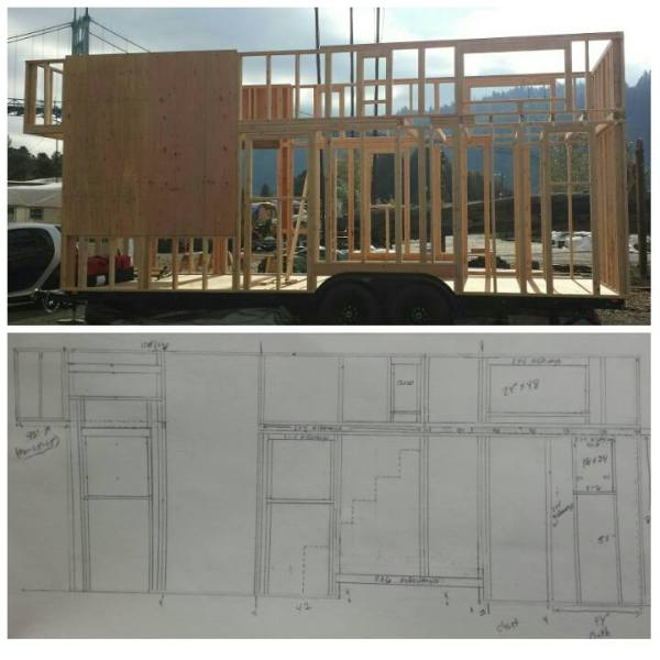 Couples 20k DIY Tiny House Construction 005