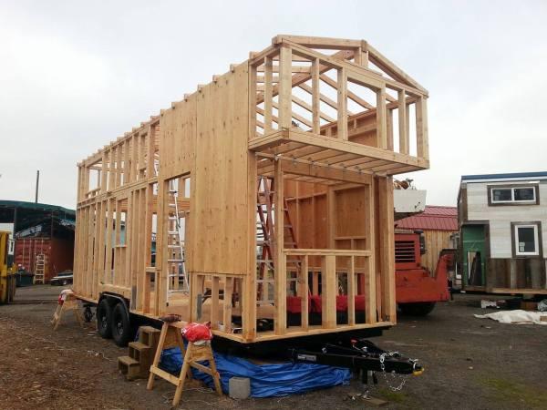 Couples 20k DIY Tiny House Construction 007