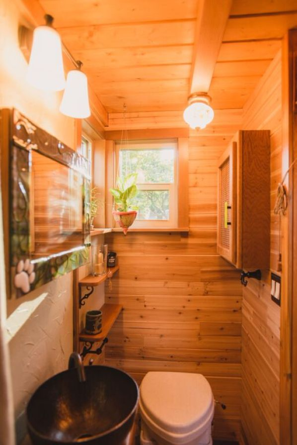 Couple's $25k DIY Smouse Tiny House on Wheels 008