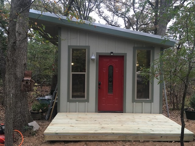 Jay U0026 Kimu0027s DIY Tiny Cabin U0026 Homestead In Texas (Plus How Much It Costs  Them To Live This Way)