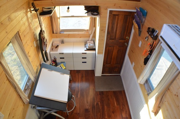 Couples DIY Tumbleweed Tiny House in Ausitn 001b