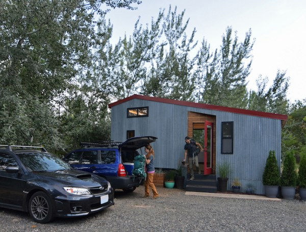 Couples Finished SHEDsistence Tiny Home 001