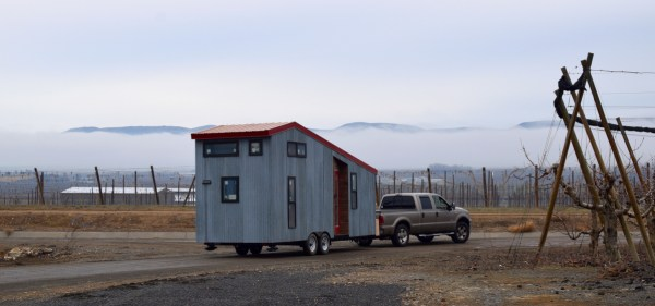 Couples Finished SHEDsistence Tiny Home 0026