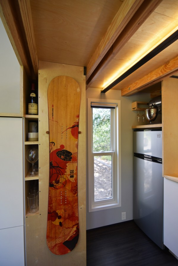Couples Finished SHEDsistence Tiny Home 008