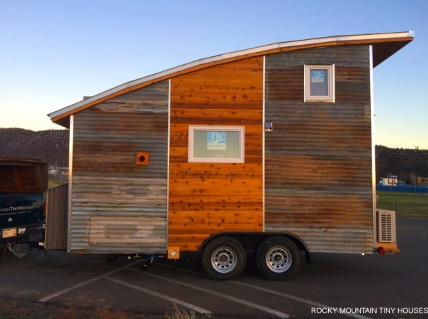 Curved Roof Tiny Home 007