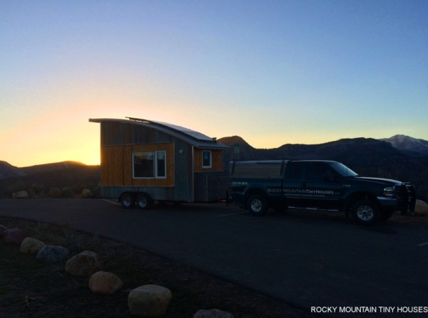 Curved Roof Tiny Home 008