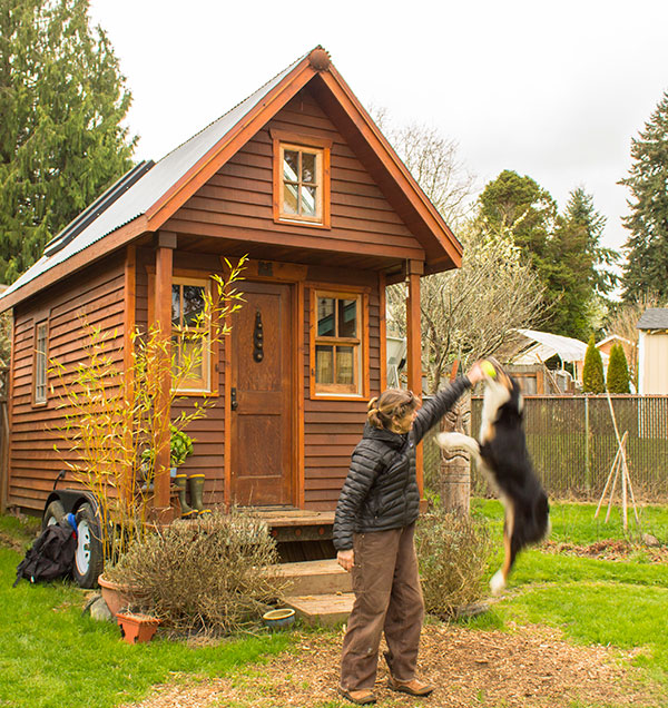 Dee Williams tiny house