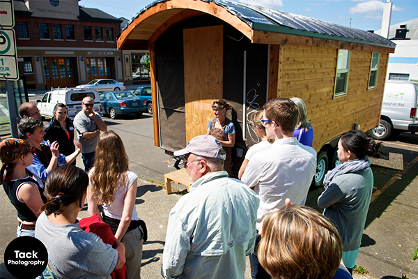 Dee Williams tiny house workshops