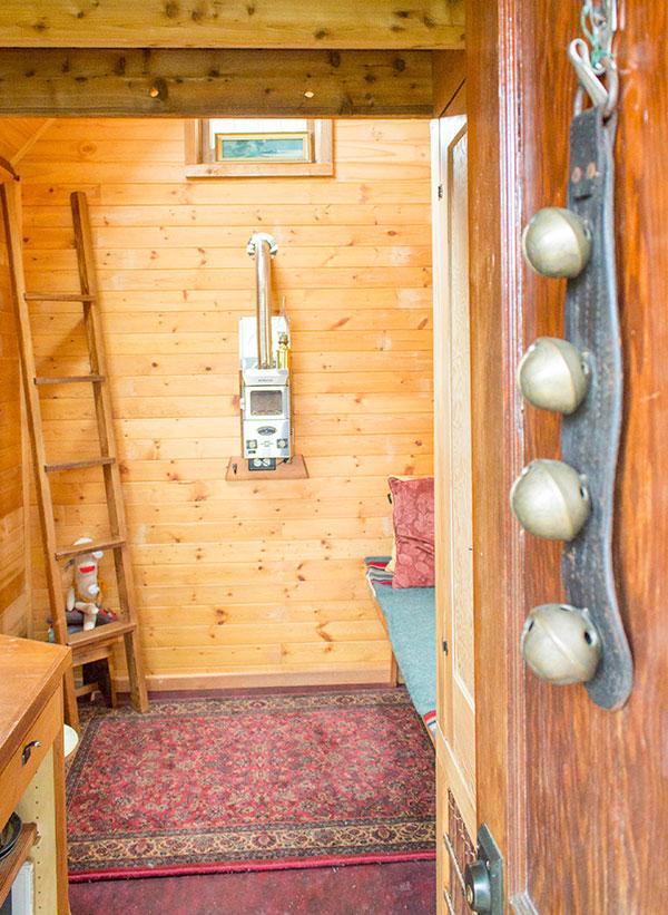 Dee Williams Kozy Cabin Tiny House Interior