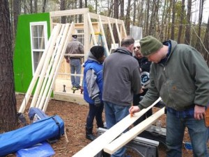 Deek Tiny House workshop Fuller Craft Museum Brockton, MA 002
