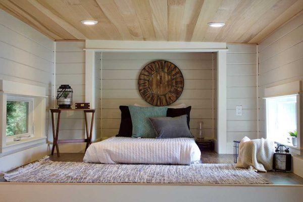 Double Loft Luxury Big Outdoors Tiny House by Tiny Heirloom 0011
