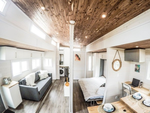 Expanding Tiny House For Sale with Slide Outs 009