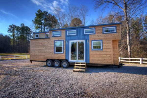 Freedom v2 Tiny House on Wheels by Alabama Tiny Homes 001