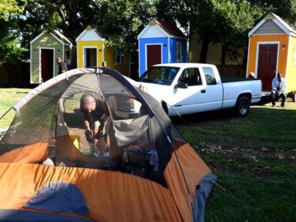 From Tents to Micro Homes