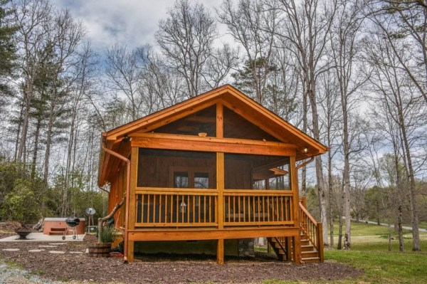 Gorgeous Tiny Cabin in Georgia You Can Stay In 0013