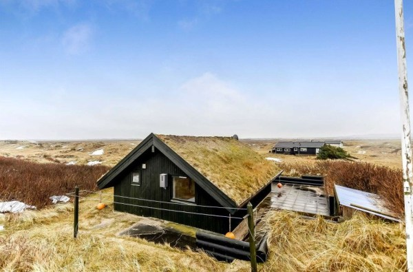 430 Sq. Ft. Grass Roof A-frame Cottage