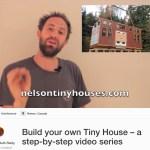 How to Build Tiny Houses Kickstarter Campaign