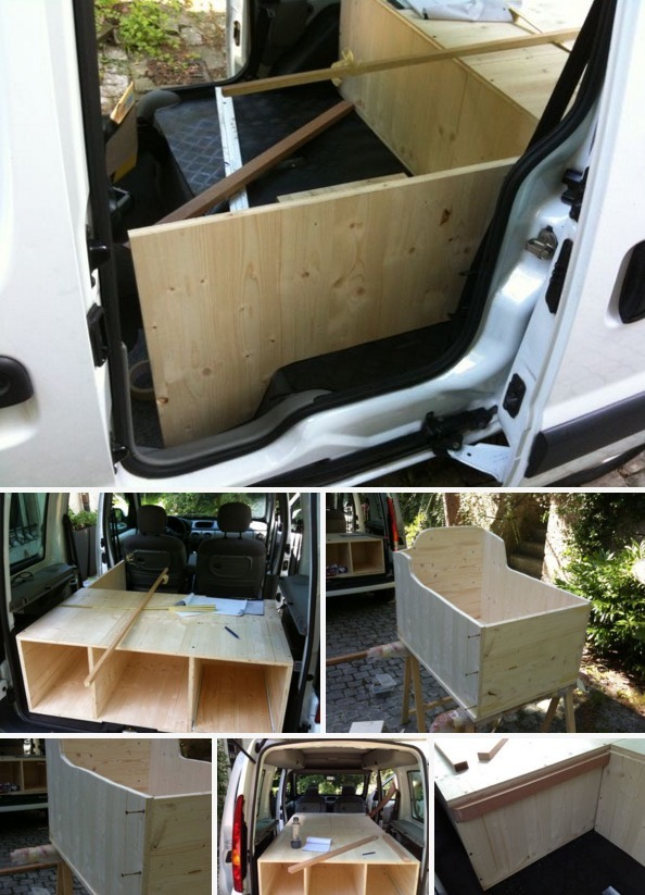 How to Turn Your Van into a DIY Micro Camper 03