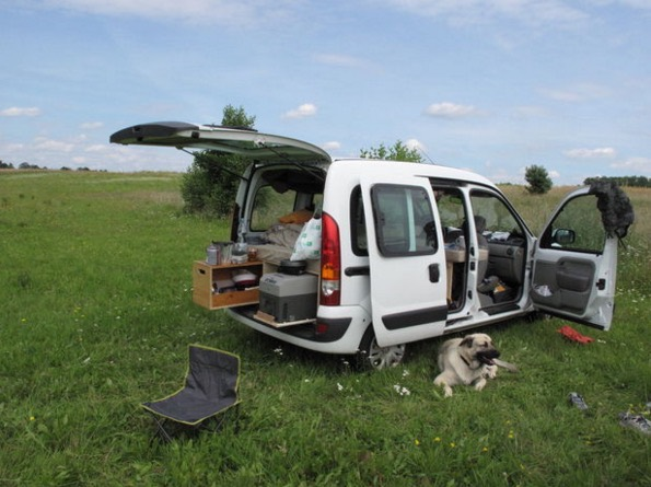 How to Turn Your Van into a DIY Micro Camper 05
