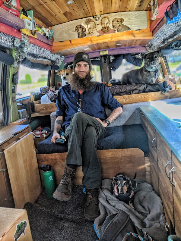John and Jayme of Gnomad Couple Living in their Van and Traveling the World 004