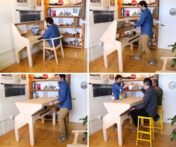 Jonathan Odoma Office Desk to Bar Furniture 002