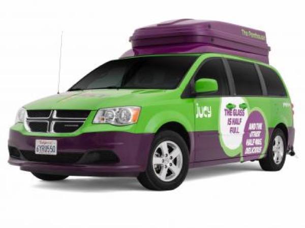 Jucy Dodge Caravan to Motorhome Conversion Camper Mini RV 0010
