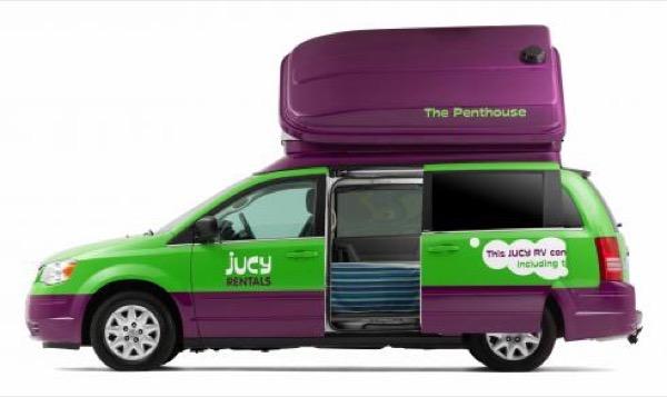 Jucy Dodge Caravan to Motorhome Conversion Camper Mini RV 0016