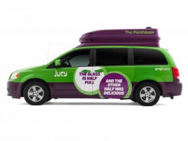 Jucy Dodge Caravan to Motorhome Conversion Camper Mini RV 009