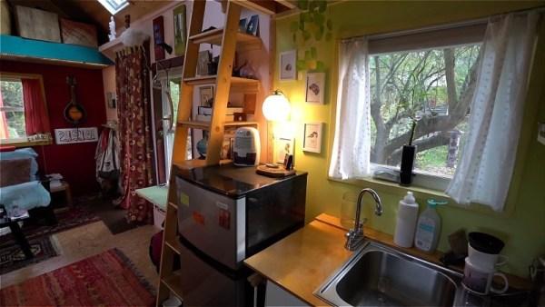 Karins DIY Tiny House in Portland 004