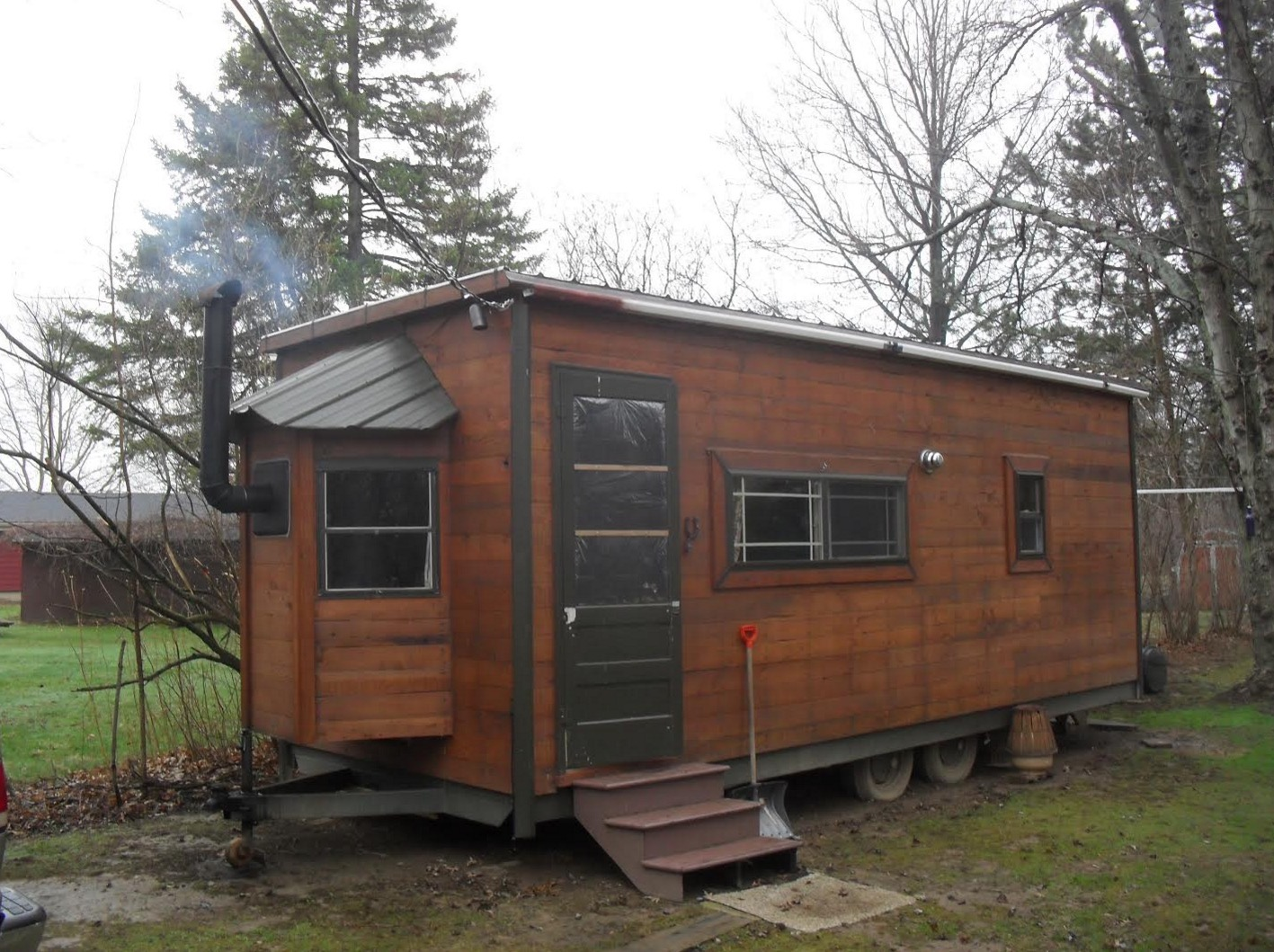 Kerry's $12k Tiny House On Wheels (For Sale