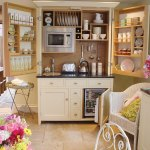 Kitchen-in-a-cupboard