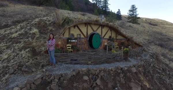 Kristie Wolfe Hobbit Hole Tiny Cabin in the Washington Mountains 0016
