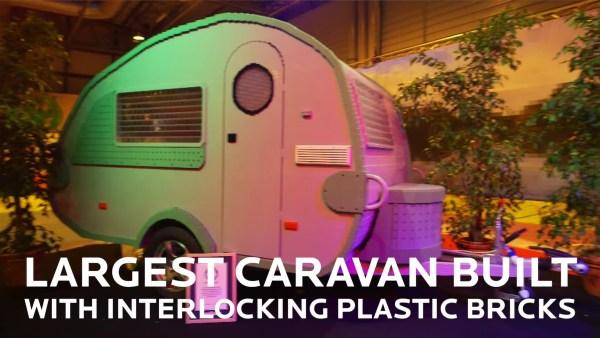 Group Builds Caravan Using 215,158 Lego Bricks