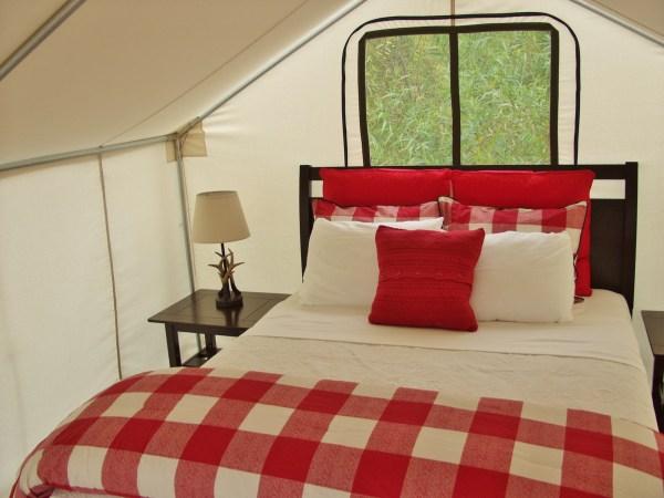 Safari Tent Queen Bed