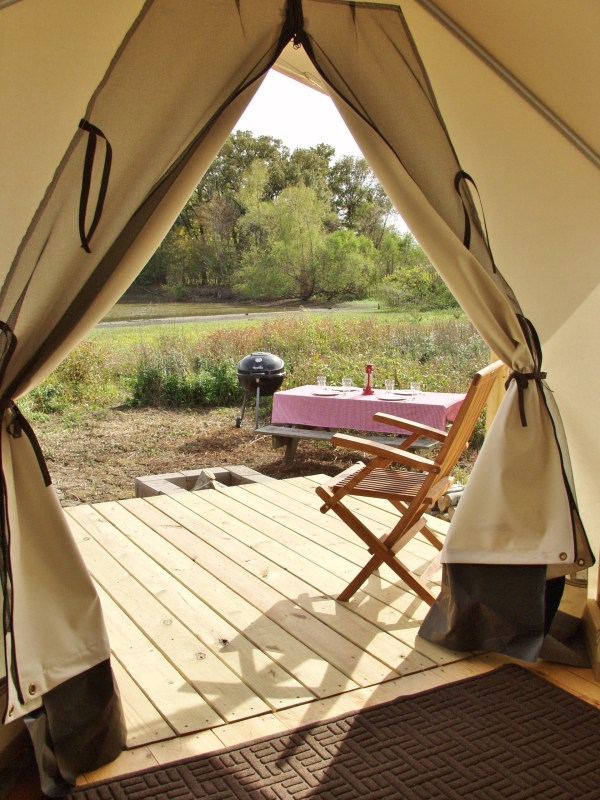 View from the Safari Tent