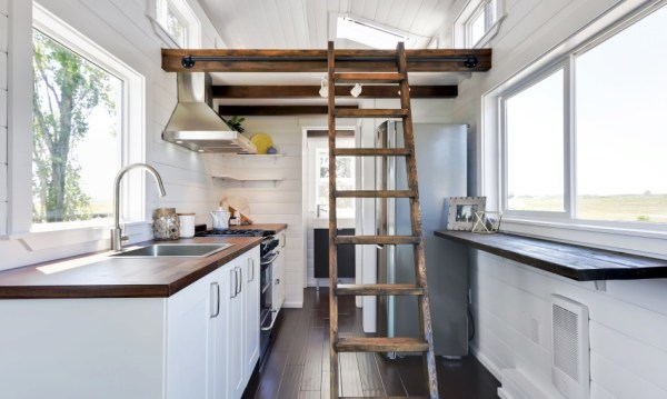Luxury Mint Tiny Home 004