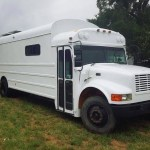 Man Buys School Bus and Turns it into Amazing Tiny Home 001