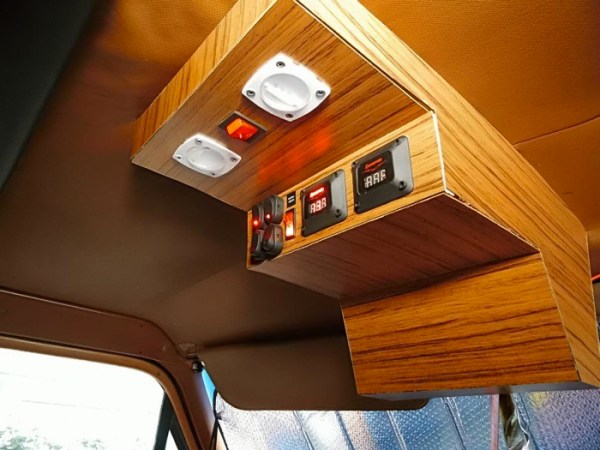 Mans DIY Micro Office and Camper Van 0014