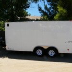 Mans DIY Stealth Cargo Trailer Tiny House 001