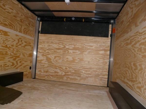 Mans DIY Stealth Cargo Trailer Tiny House 002