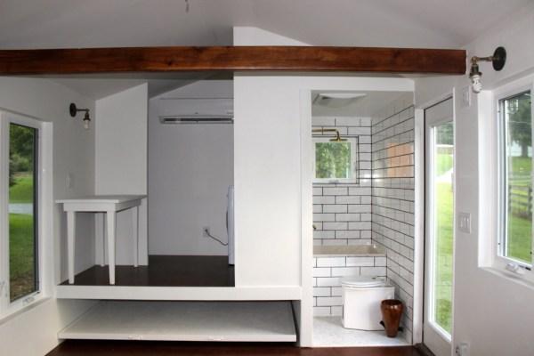 Minim Tiny House on Wheels Built by Brevard Tiny House 002