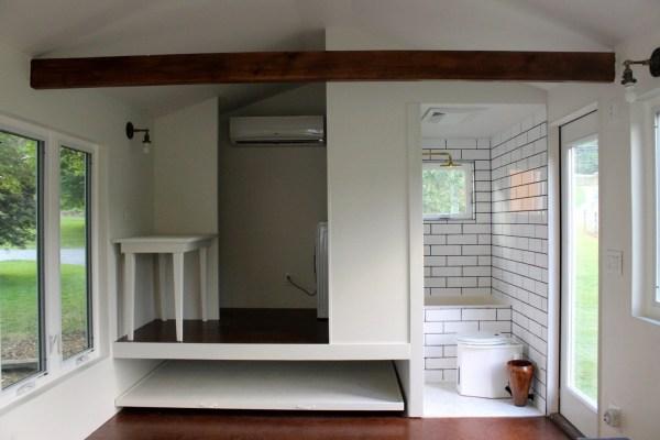 Minim Tiny House on Wheels Built by Brevard Tiny House 007
