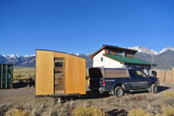 Mobile Micro Cabin and Office by Rocky Mountain Tiny Houses 001