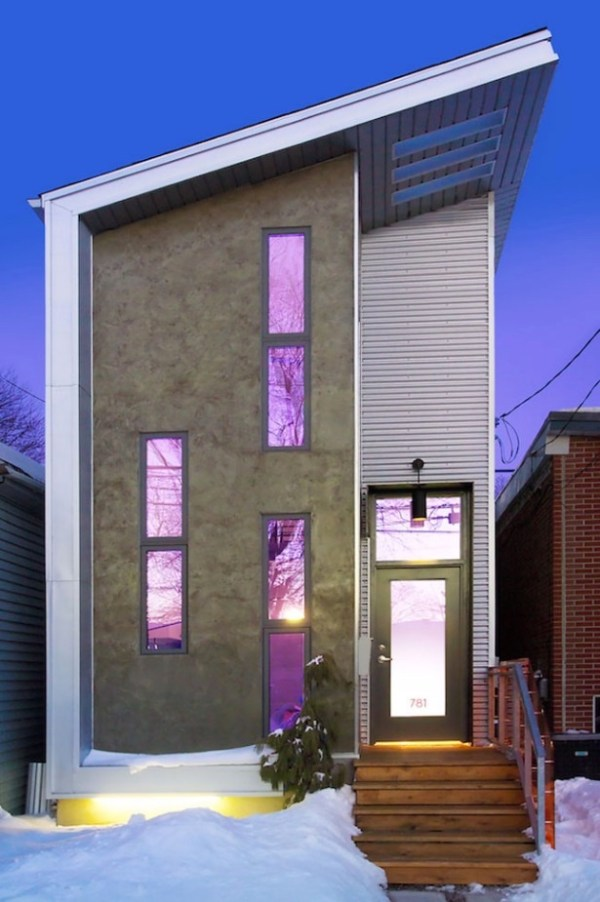 Modern Industrial Small Home in Toronto by Linebox Studio 001