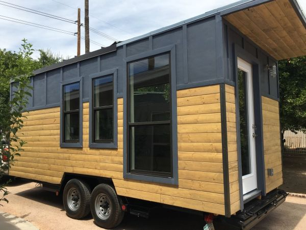 Modern Industrial Tiny House 001