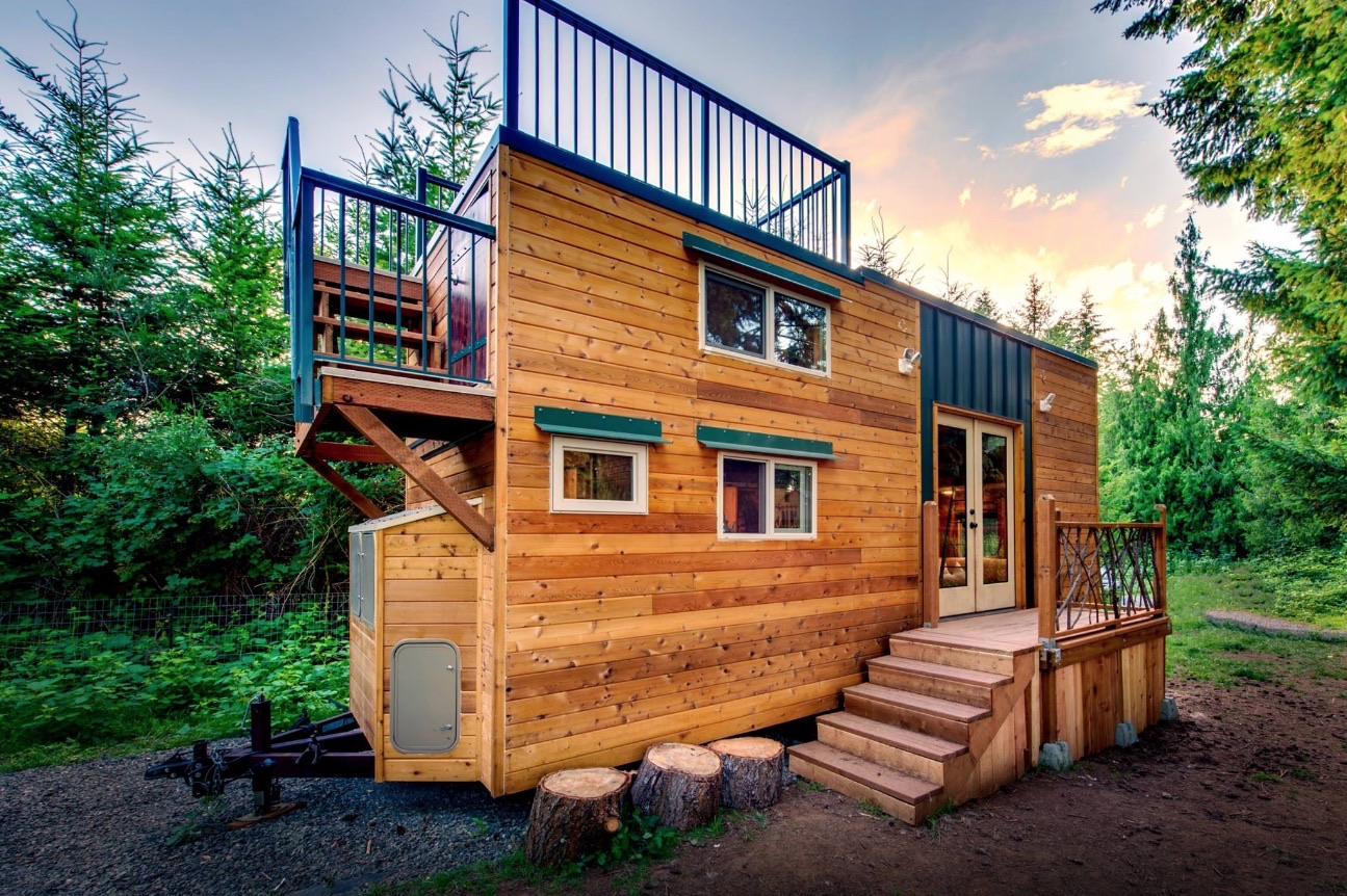 204 Sq Ft Mountaineer Tiny Home With Rooftop Deck