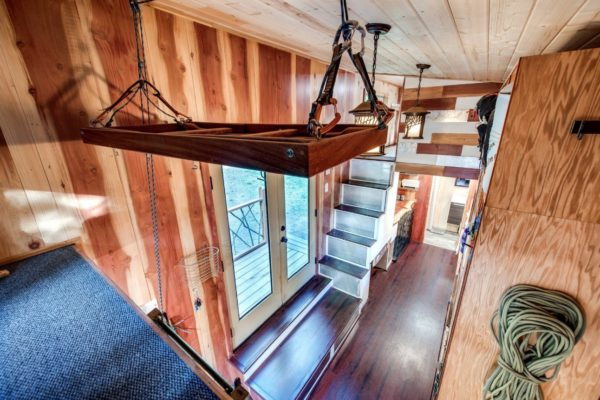 Mountaineer Tiny Home with Rooftop Deck 006