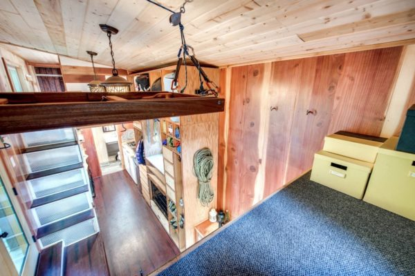 Mountaineer Tiny Home with Rooftop Deck 007