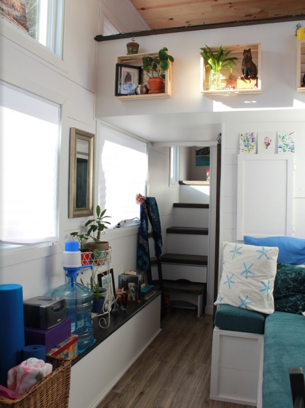 Natashas 28ft Tiny House on Wheels 0012